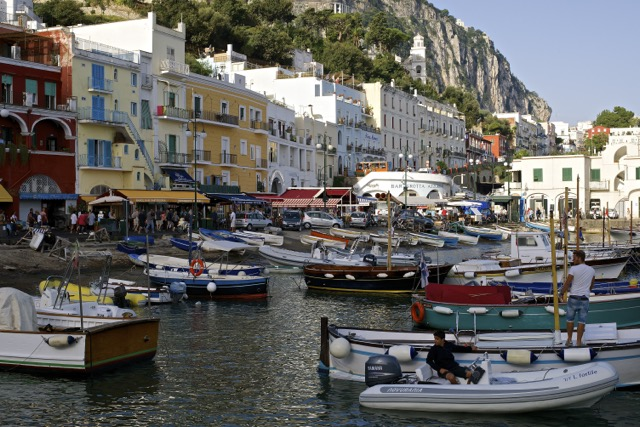 Morning in Capri