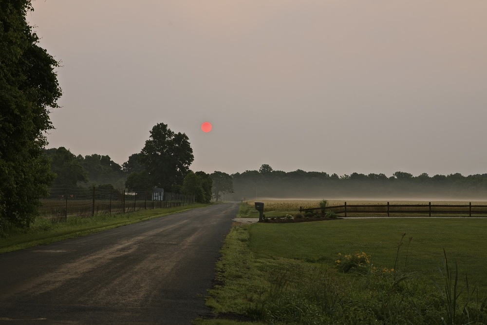 Truitt Road Sunrise