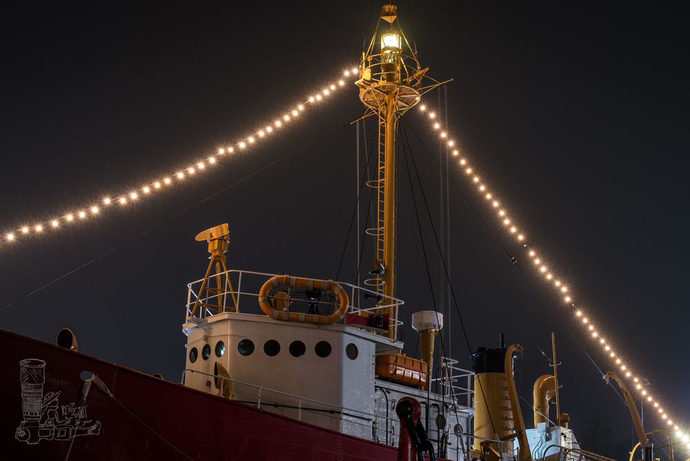 Lightship in the Fog