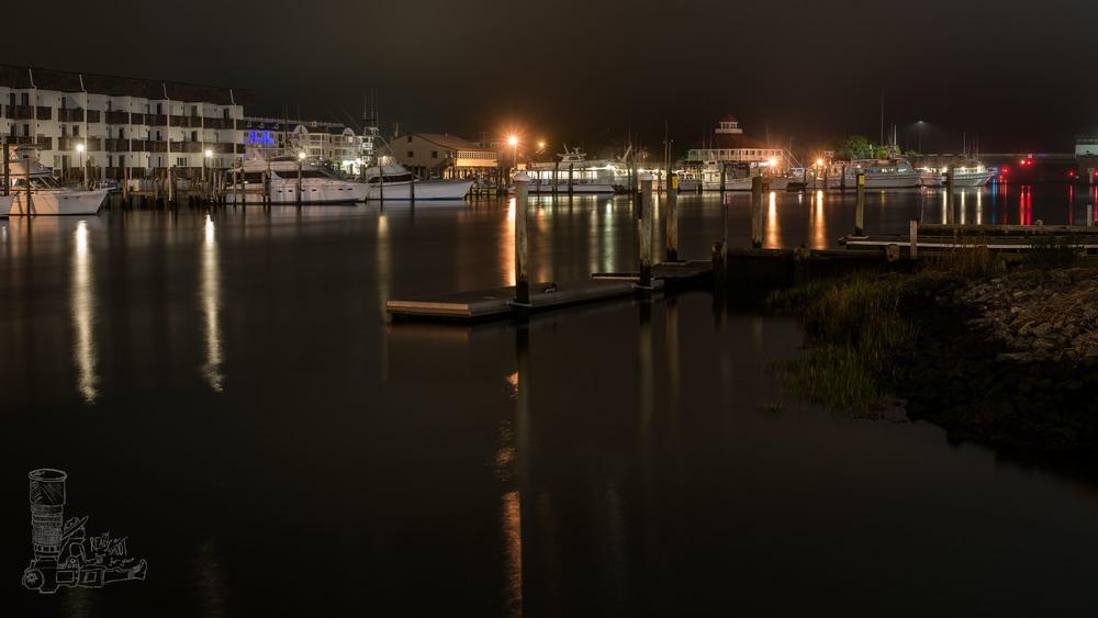 Calm Harbor Night
