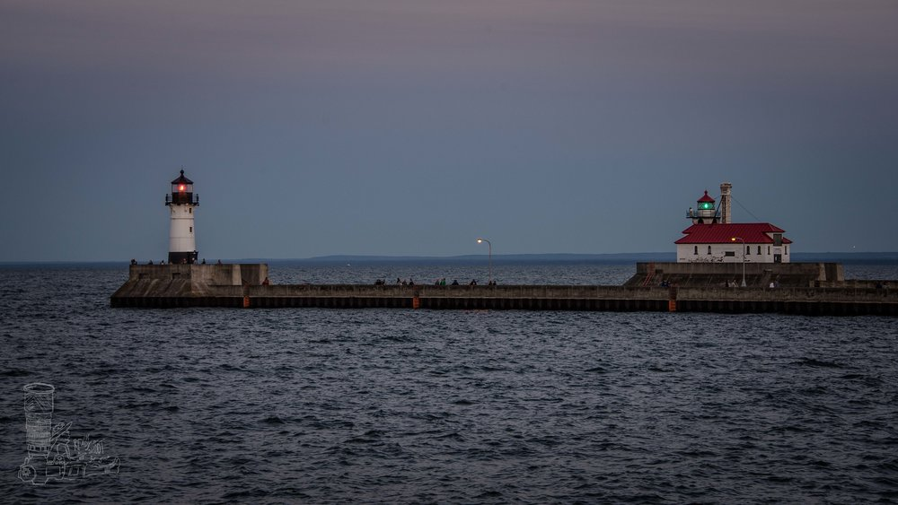 The Inlet of Duluth