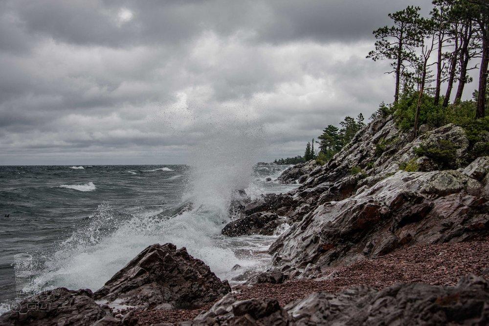 Crashing the Shoreline