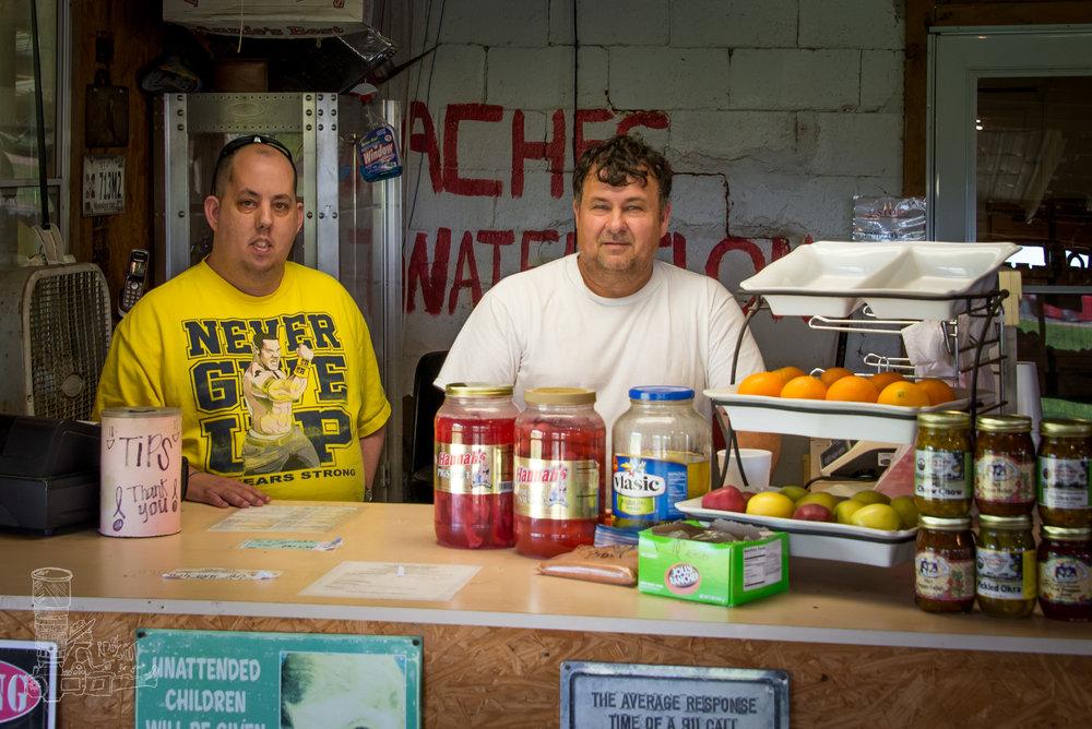 The Shopkeep & Son