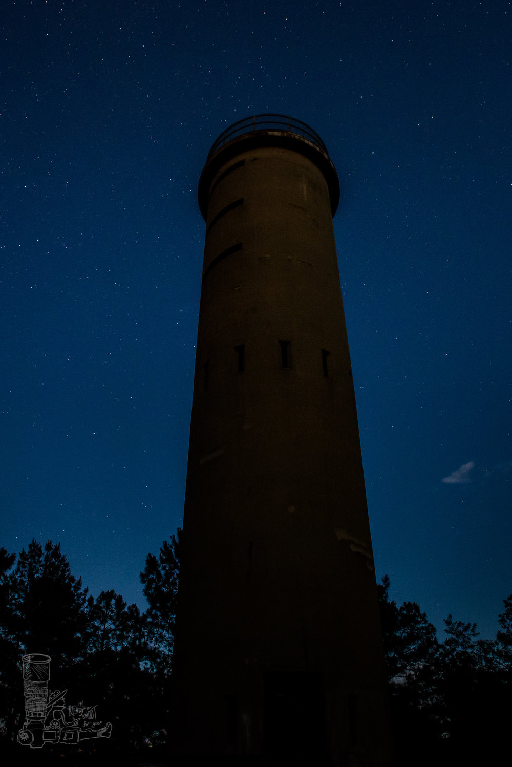 Nighttime at the Tower II