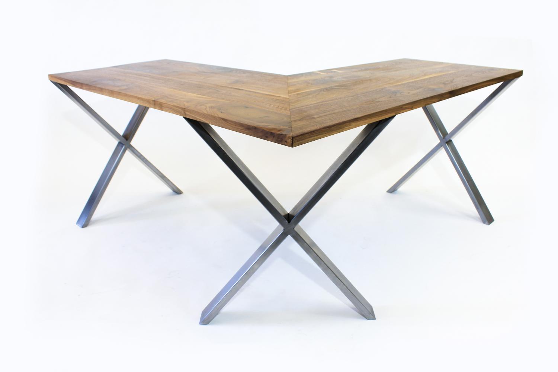 Image of: L Shaped Desk Modern Corner Desk Meisch Made