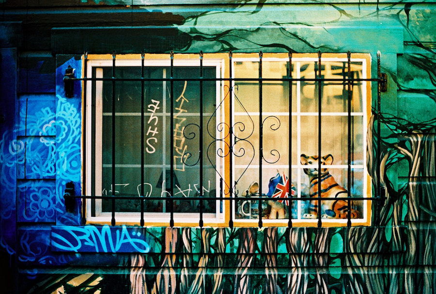 graffiti window