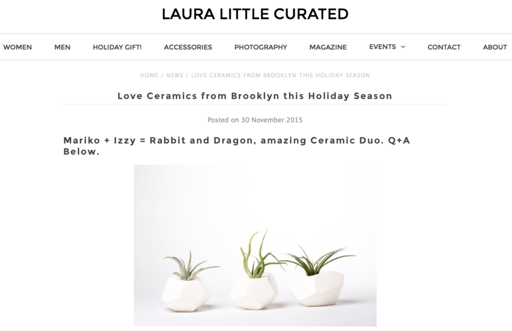 Lauralittlecurated.com
