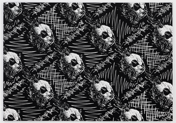 Panda Pattern: The Scream