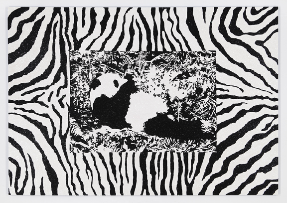 Panda Pattern: Zebra
