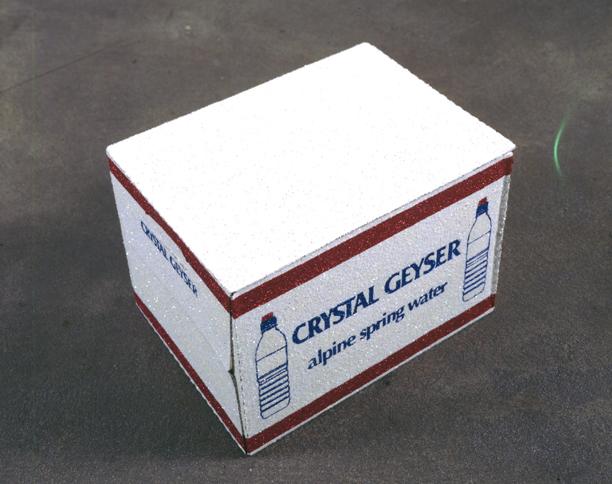 Un Carton de Crystal Geyser