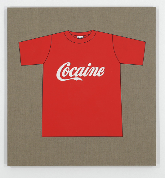 Rob Pruitt's T-Shirt Collection: Cocaine