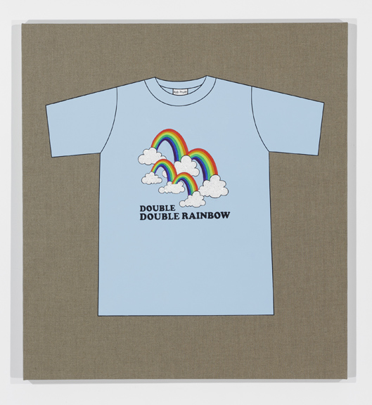 Rob Pruitt's T-Shirt Collection: Double Double Rainbow (What Does It Mean?)