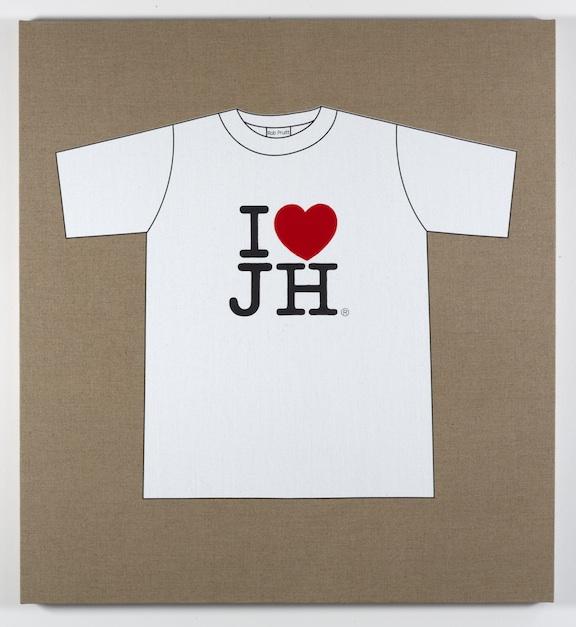 Rob Pruitt's T-Shirt Collection: I Love Jonathan Horowitz
