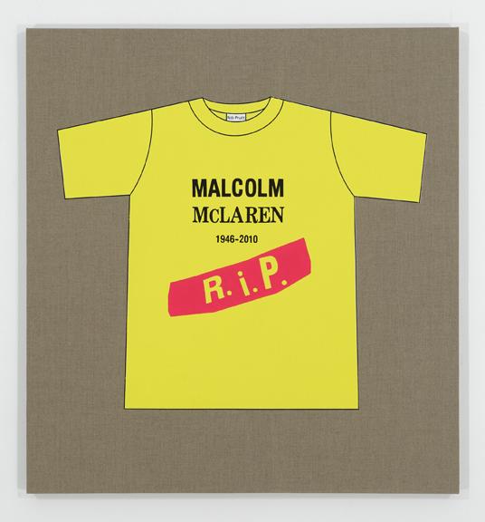 Rob Pruitt's T-Shirt Collection: Malcolm McLaren