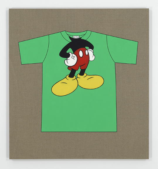 Rob Pruitt's T-Shirt Collection: You Are Mickey