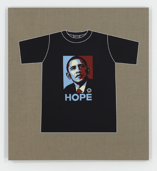 Rob Pruitt's T-Shirt Collection: Obama Hope