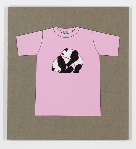 Rob Pruitt's T-Shirt Collection: Copulating Pandas