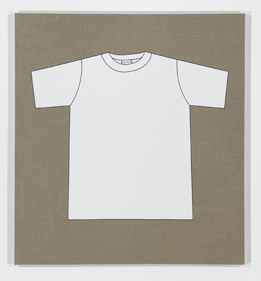 Rob Pruitt's T-Shirt Collection: Classic White