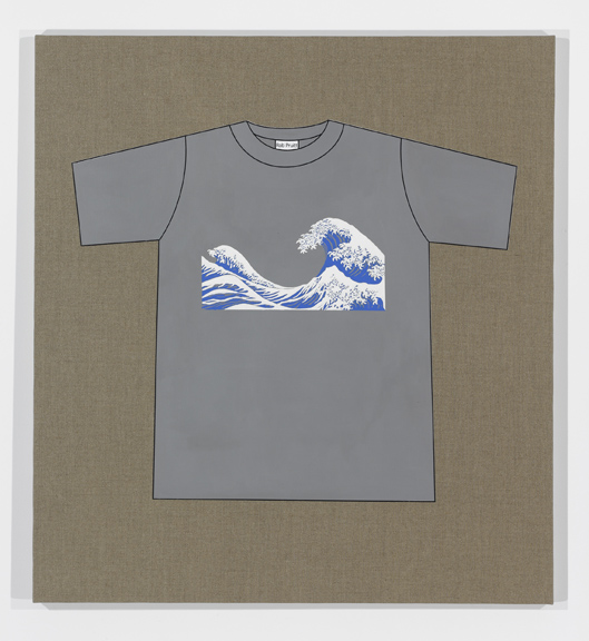 Rob Pruitt's T-Shirt Collection: The Great Wave