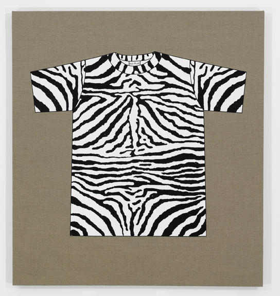 Rob Pruitt's T-Shirt Collection: Zebra