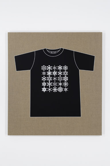 Rob Pruitt's T-Shirt Collection: Snowflakes
