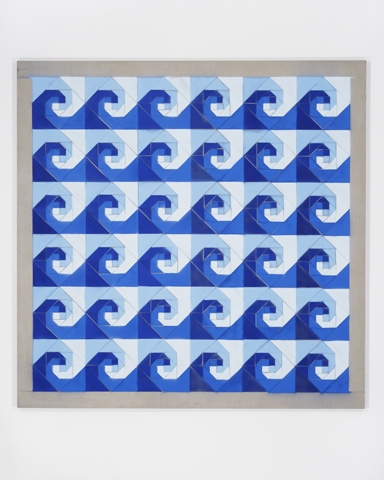 Rumspringa Quilt: Snail Trail Wave