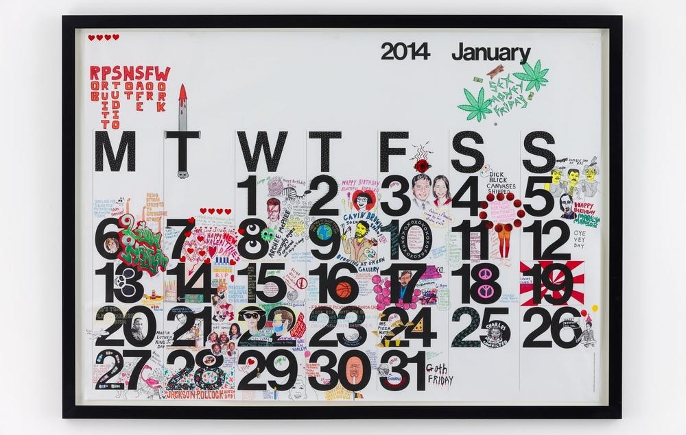 Studio calendar 2014