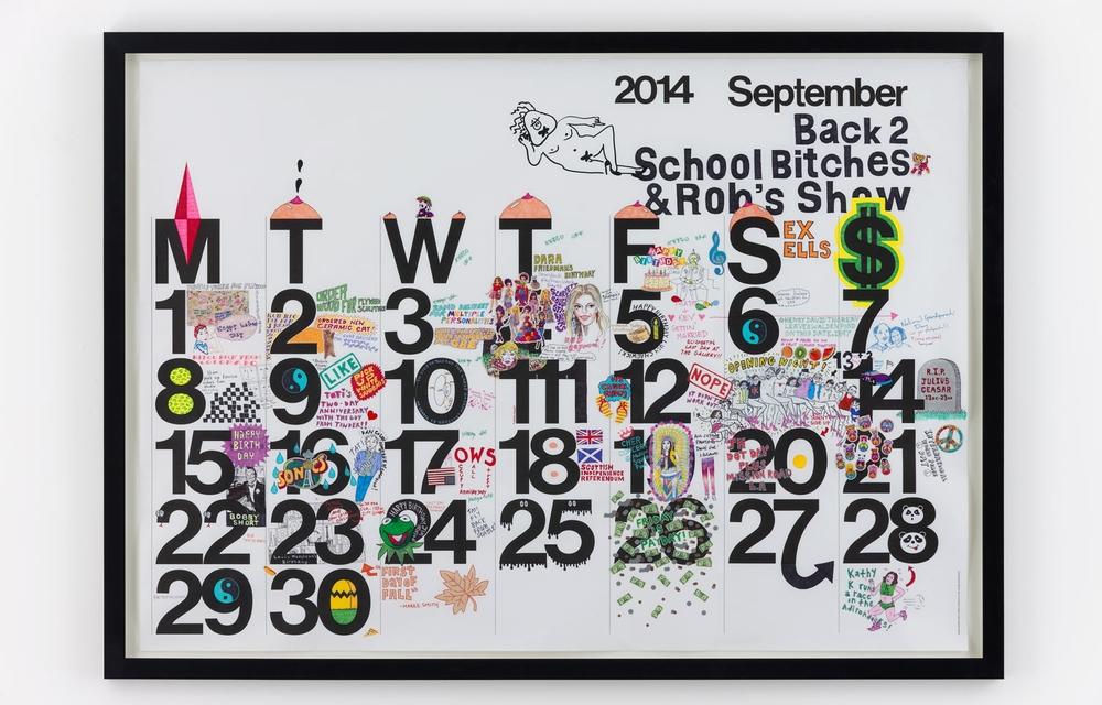Studio Calendar September 2014