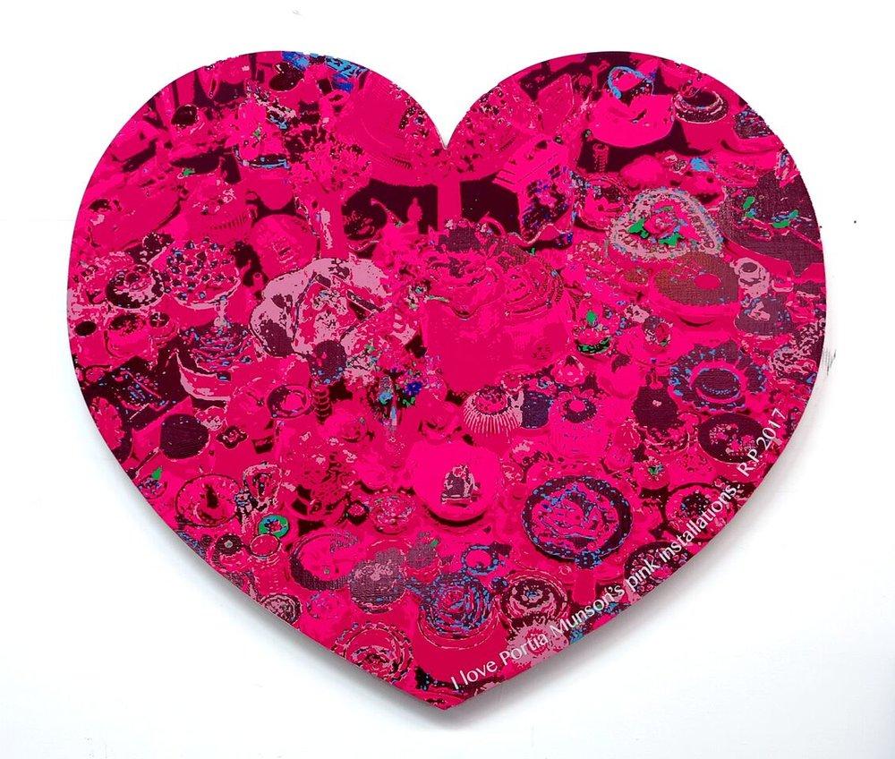 I ♡ Portia Munson's Pink Installations