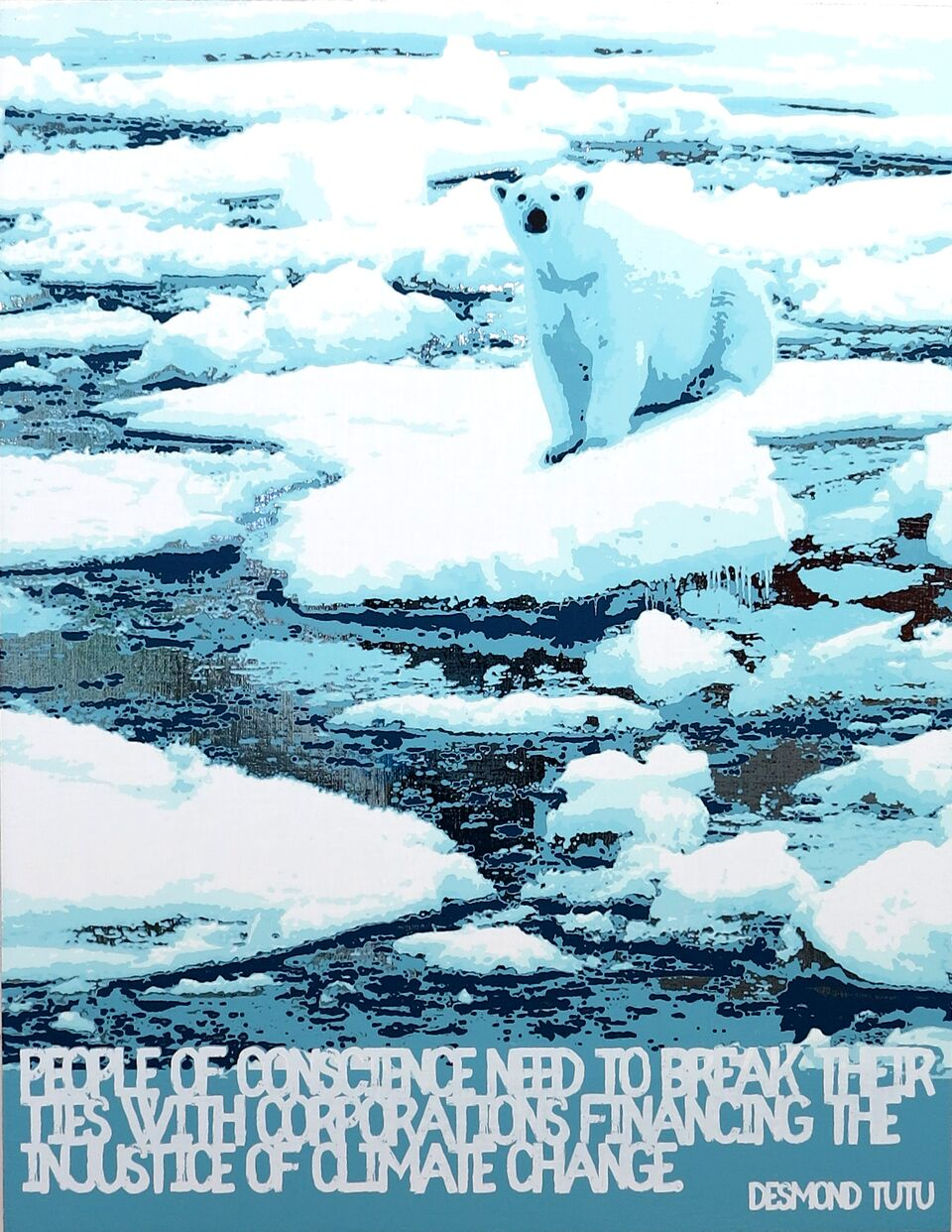 Polar Bear/Global Warming (Desmond Tutu)