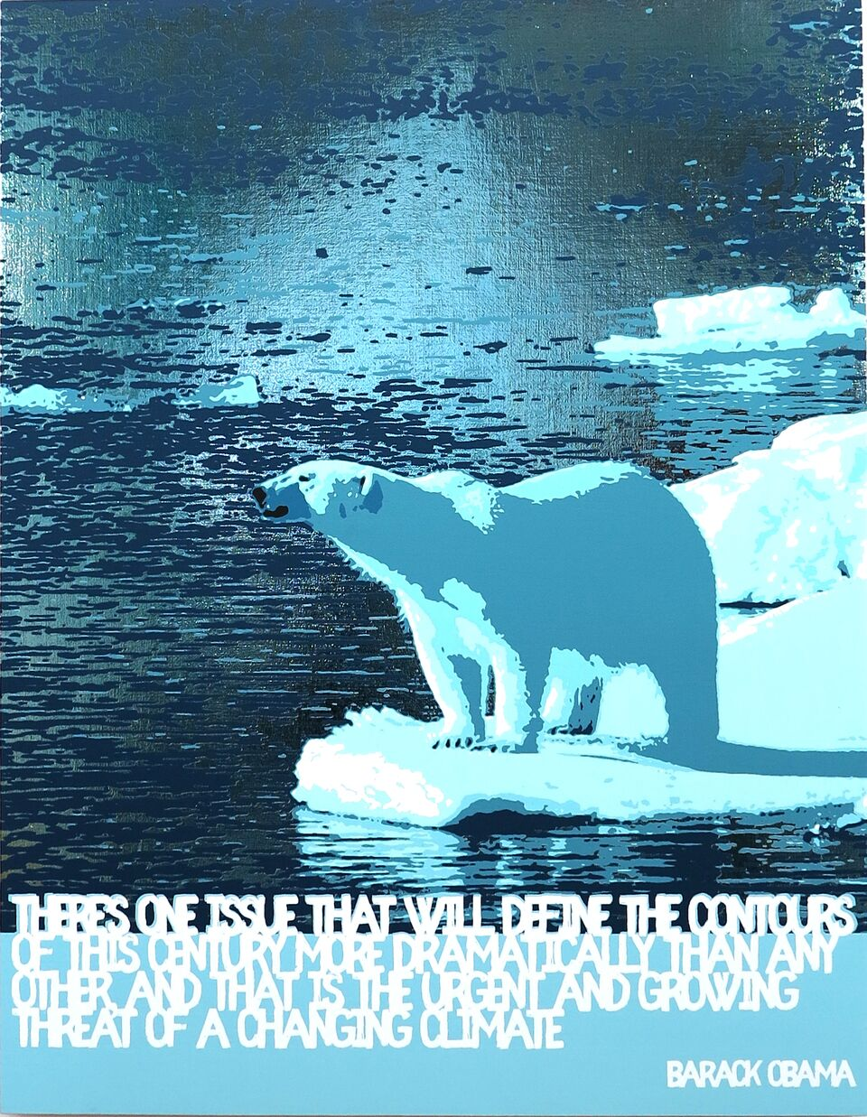 Polar Bear/Global Warming (Barack Obama)