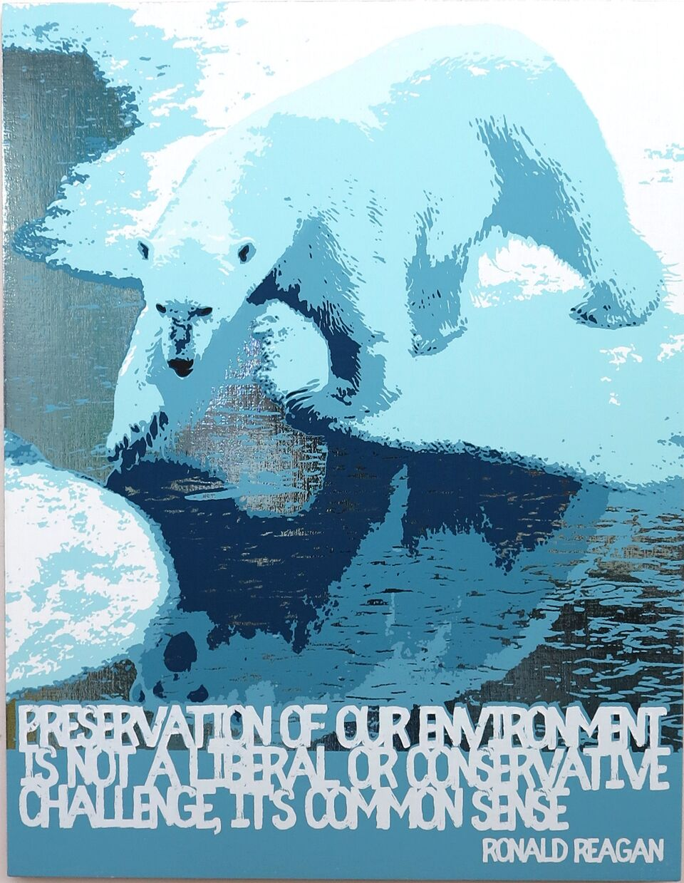Polar Bear/Global Warming (Ronald Reagan)