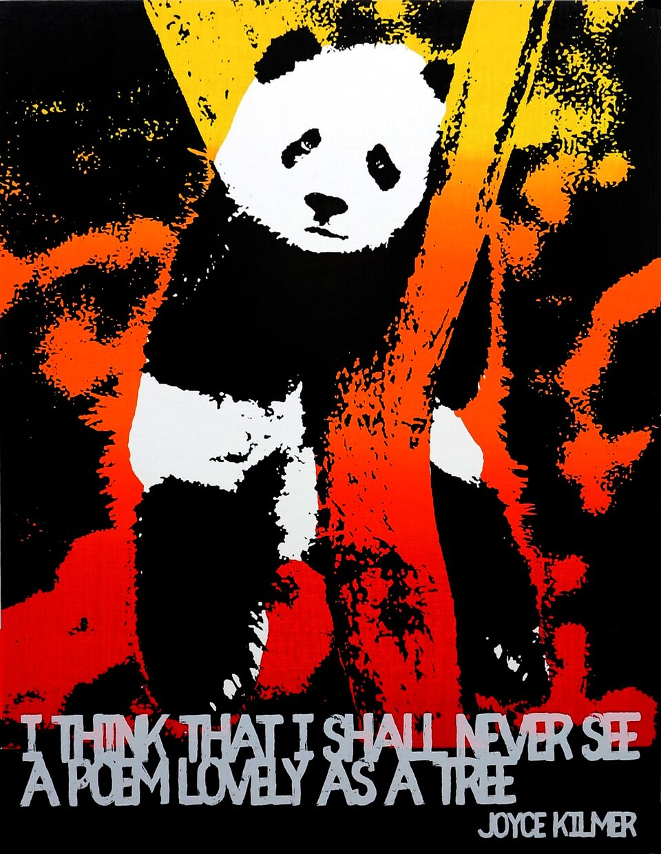 Motivational Panda (Joyce Kilmer)