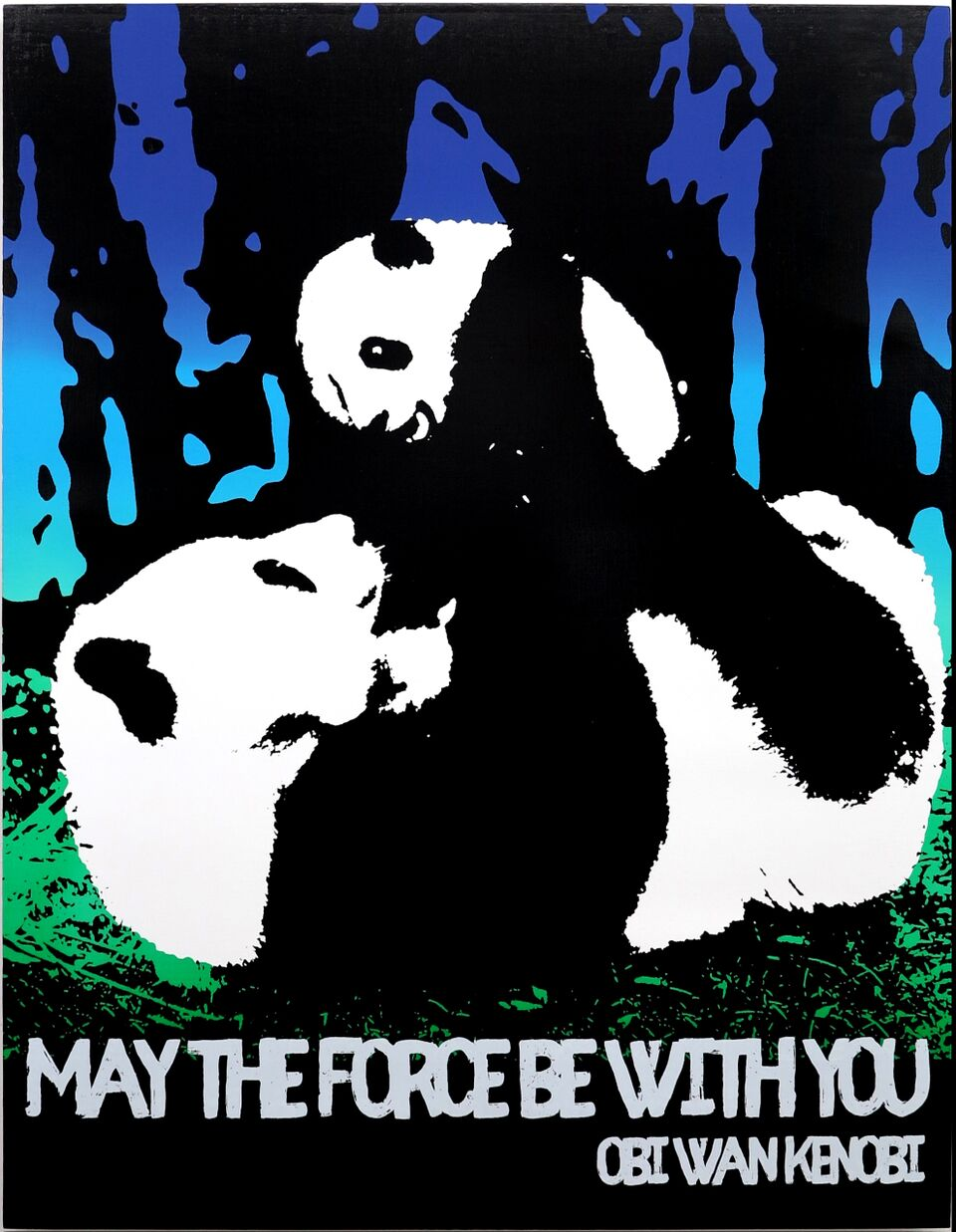 Motivational Panda (Obi Wan Kenobi)