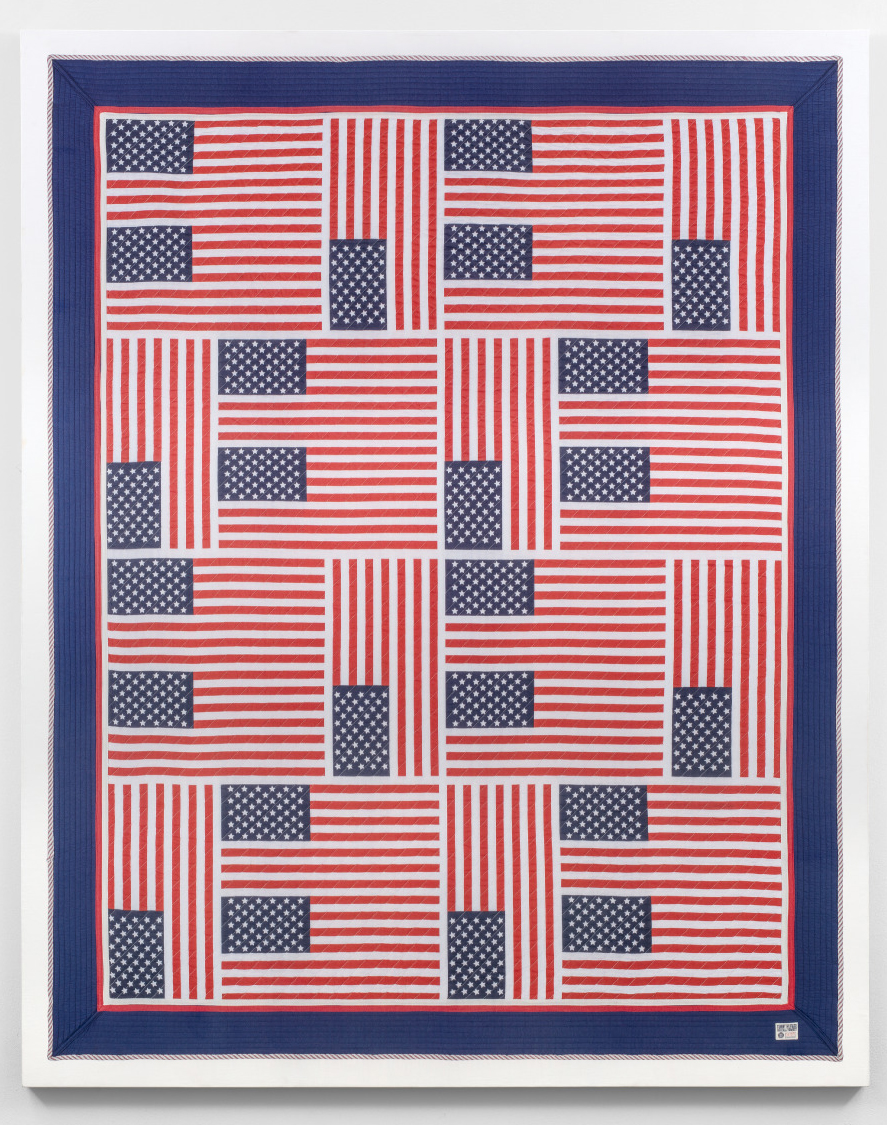 American Quilt 2018: Hilfiger Flags