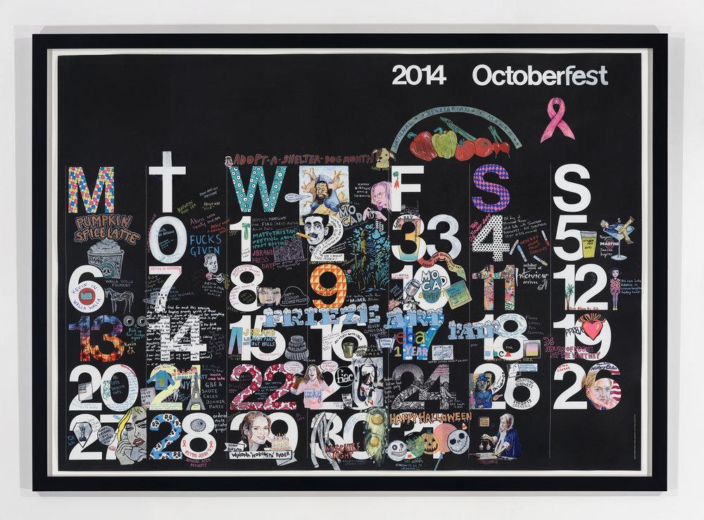 Studio Calendar October 2014