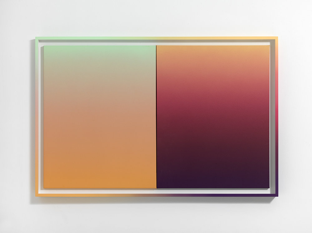 Gradient Studies, Diptych