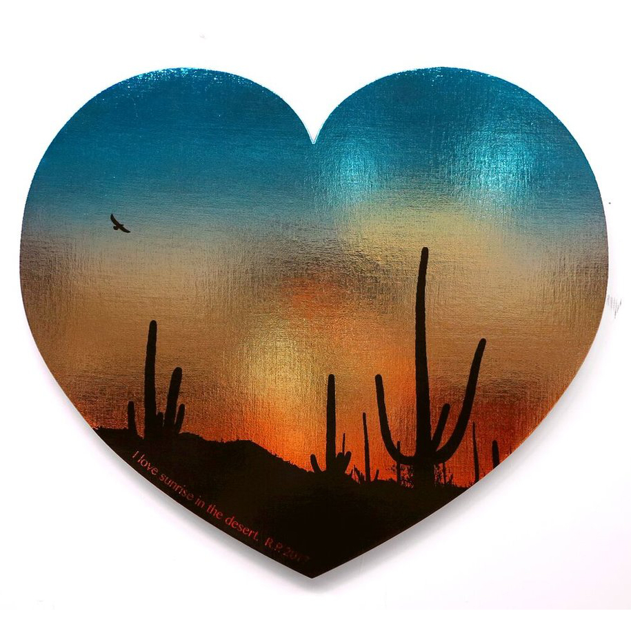 I ♡ Sunrise in the Desert