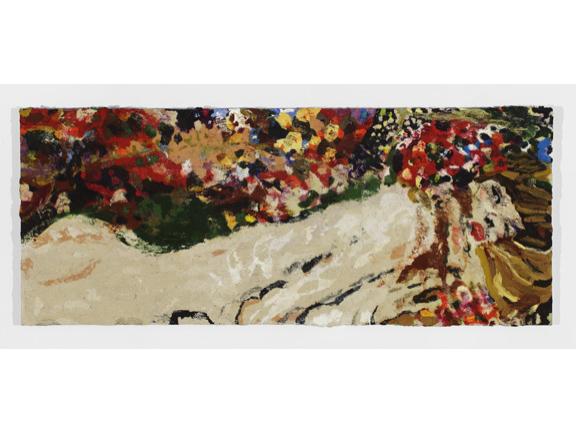 Pjätteryd Oil Painting: Klimt Reclining Nude