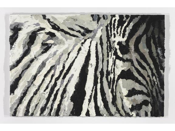 Pjätteryd Oil Painting: Zebra