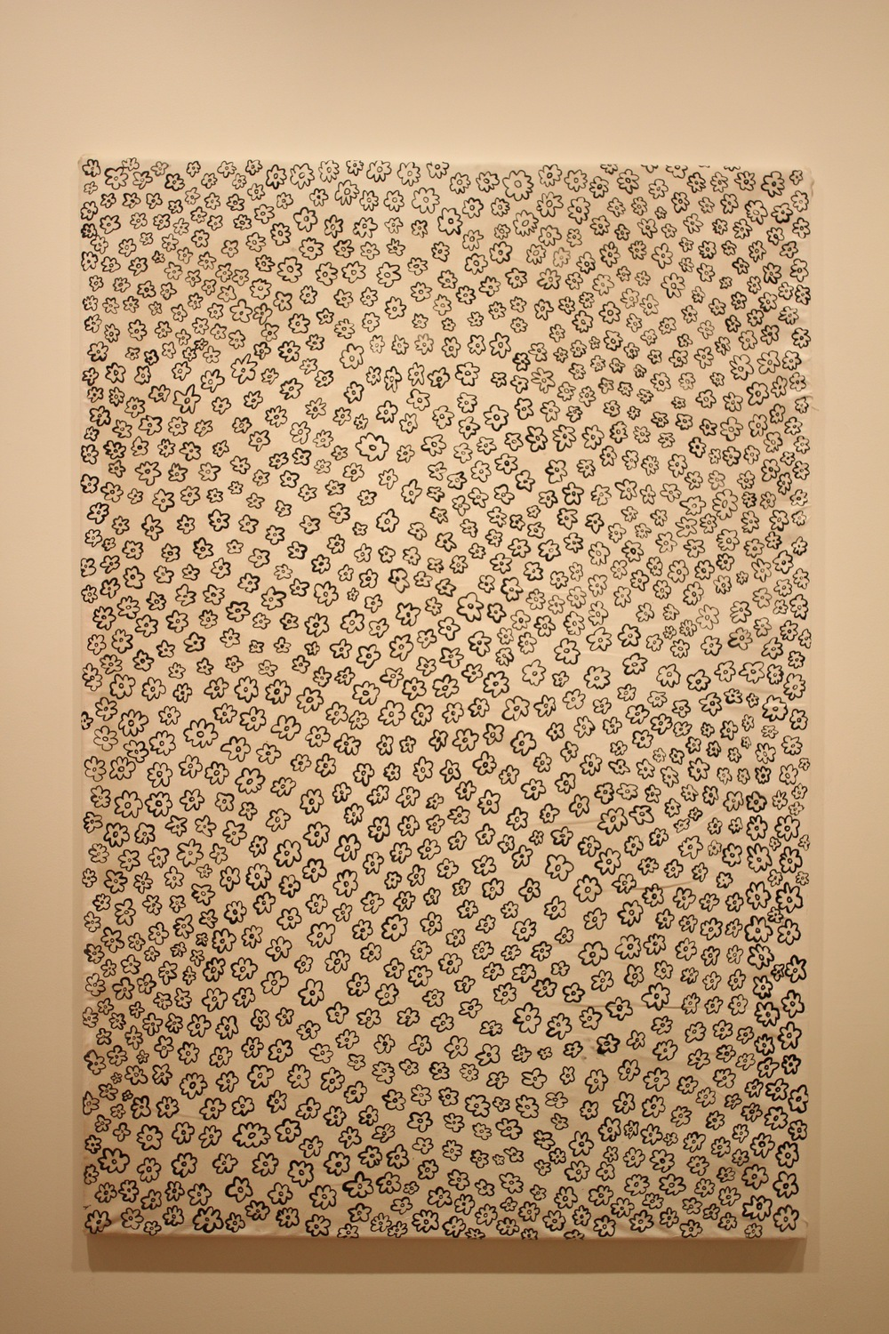 many-tittied-splats. 2015. Acrylic on Canvas