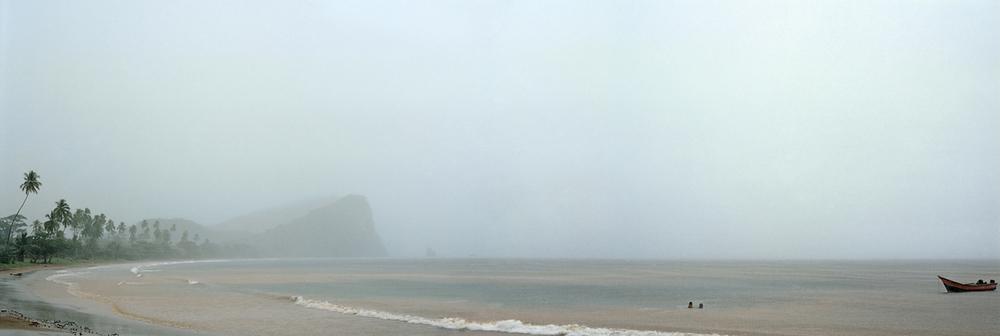 "Congua Panorama, 2009. Giclee print,36""x 96"""