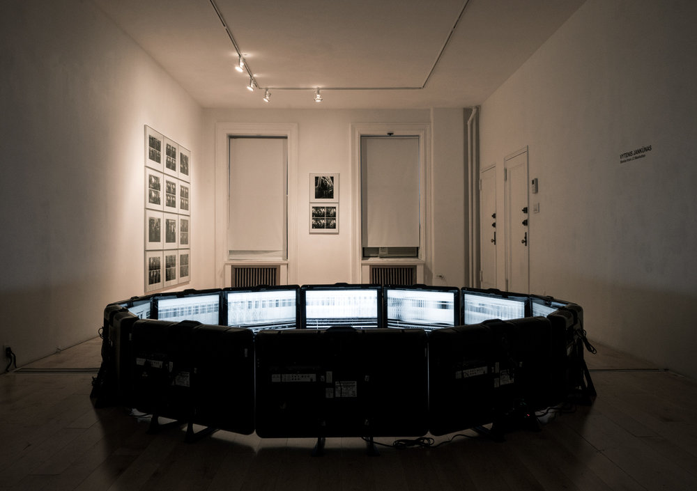 Vytenis Jankūnas:  Stories from J 2 Manhattan,  Installation view.