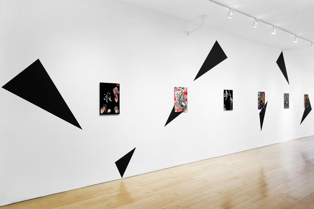 Installation view, wall 1