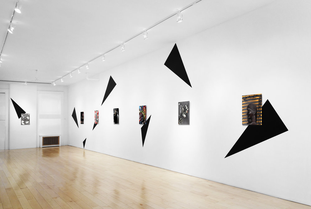 Installation view, wall 1 and 2