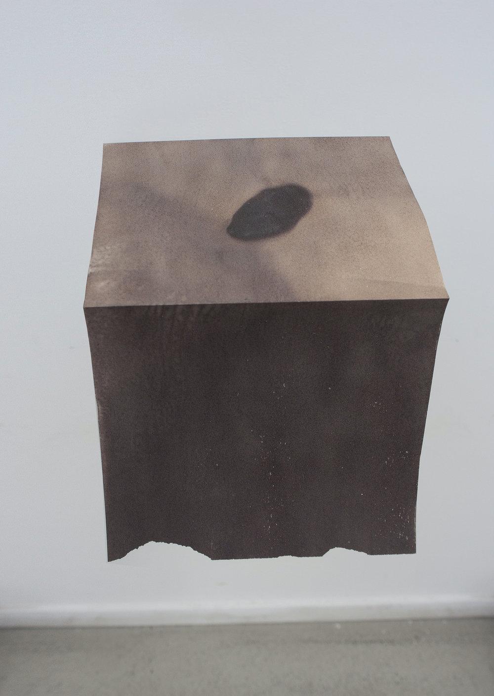 AgnėJonkutė, Stone Book , 2018. Stones, thermal paper, sunlight. Minya, Egypt.