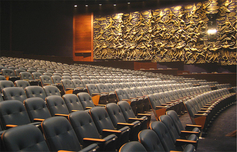 PERFORMING ARTS CENTRE AT king power bangkok, thailand