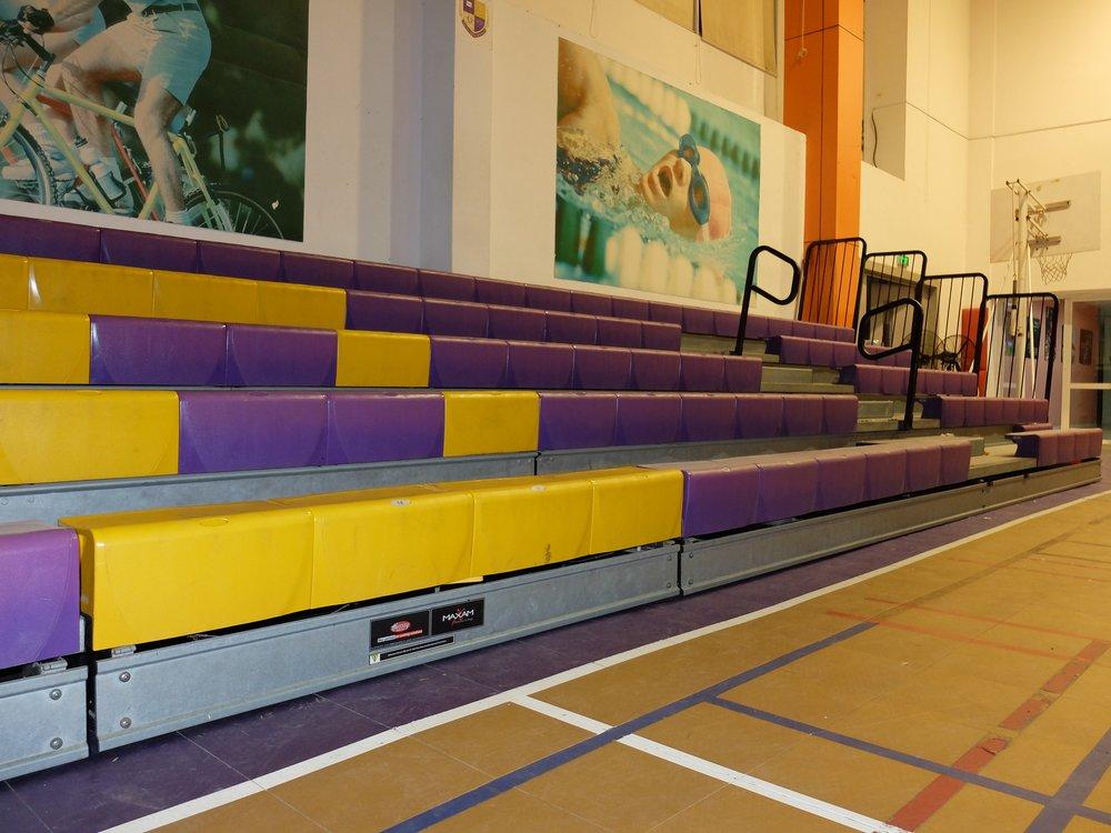 OLYMPIA INTERNATIONAL SCHOOL - VIETNAM MAXAM WITH COURTSIDE XC10 SEATS