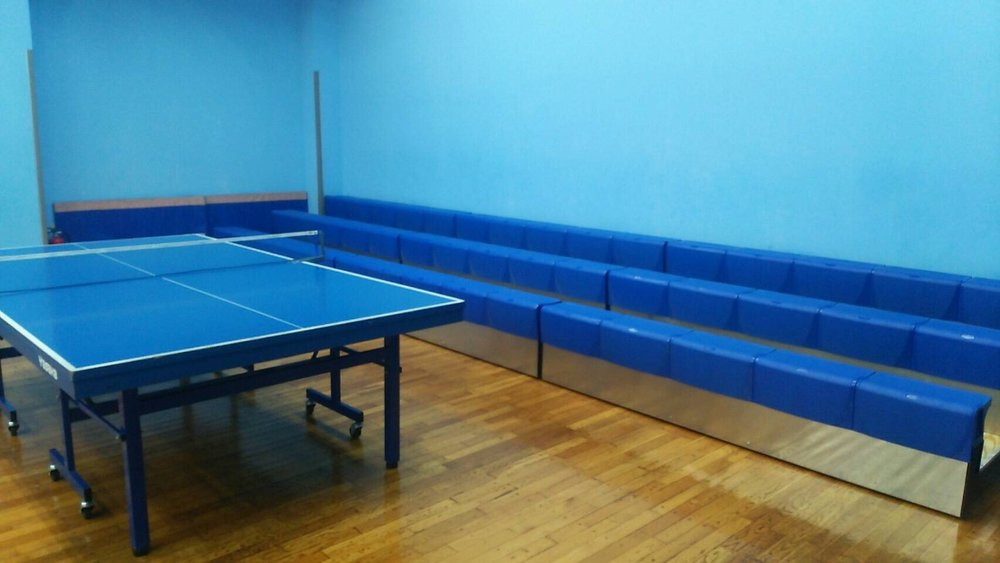 MITAKA TABLE-TENNIS CLUB - JAPAN  MAXAM1 PORTABLE BLEACHER