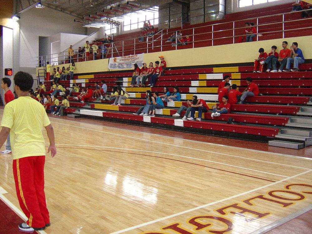 COLEGIO SAN AGUSTIN - BINAN, PHILIPPINES MAXAM WITH COURTSIDE XC10 BENCH